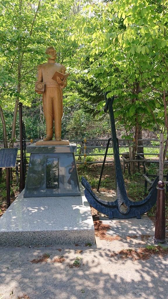 龍宮神社の像