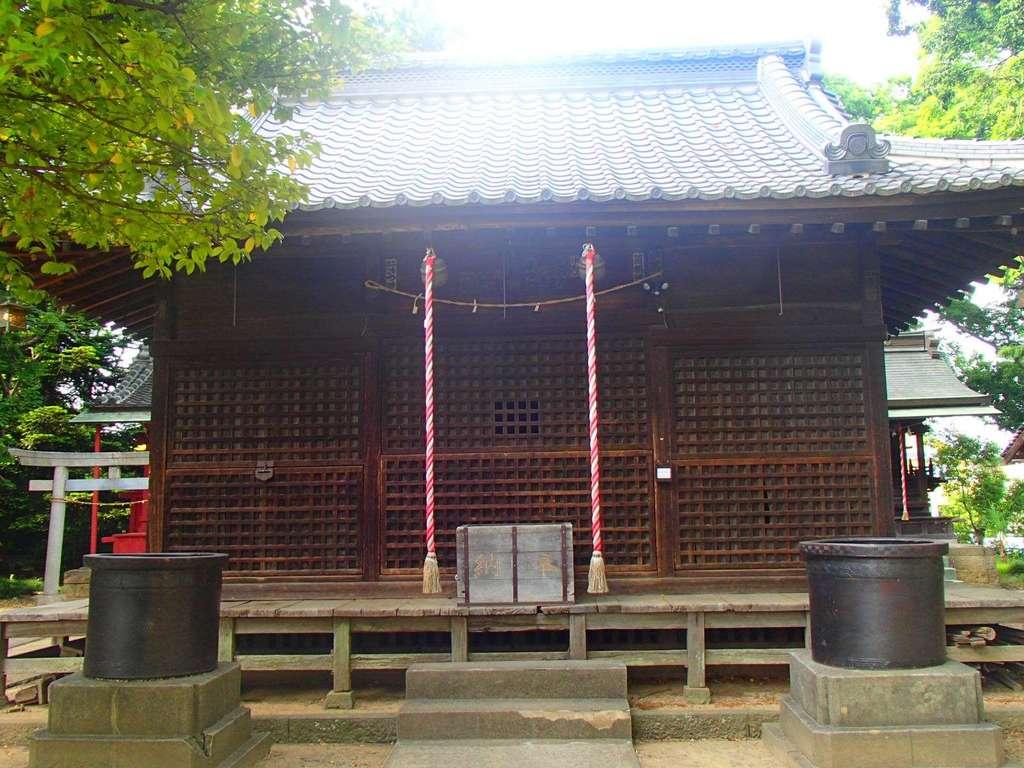 大久保神社の本殿
