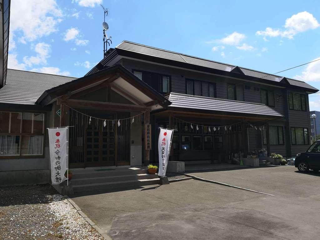 厚別神社の本殿