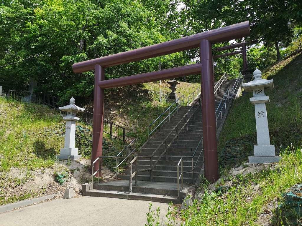 厚別神社の鳥居