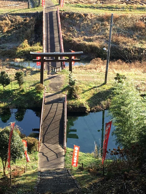 坪沼八幡神社の景色