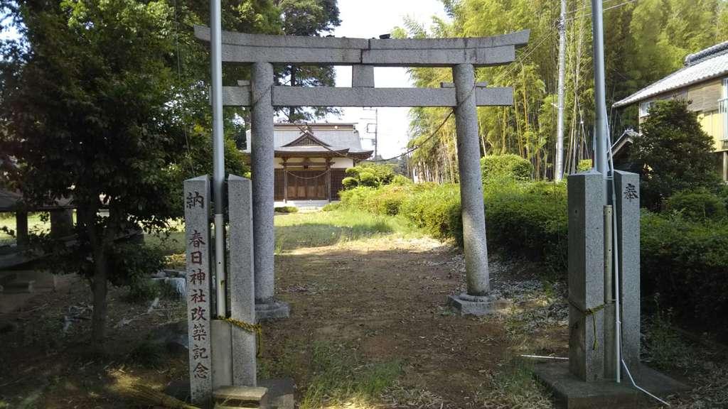 春日神社の境内・文化財