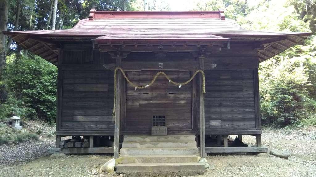 立野神社の本殿
