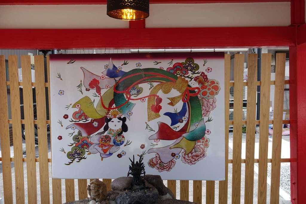 別小江神社の芸術