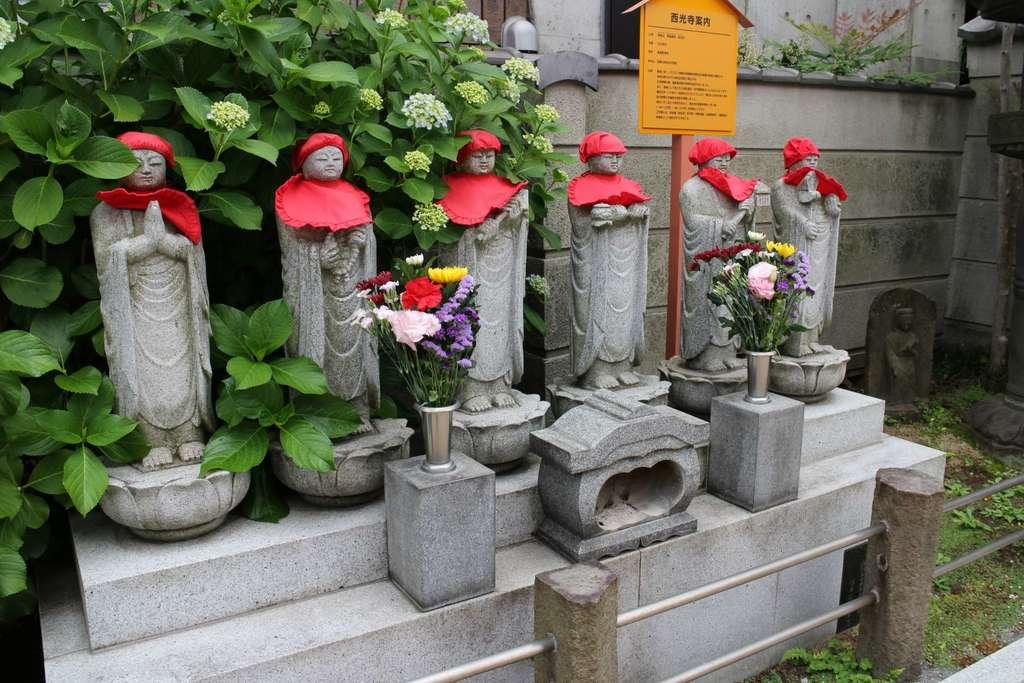 西光寺の地蔵