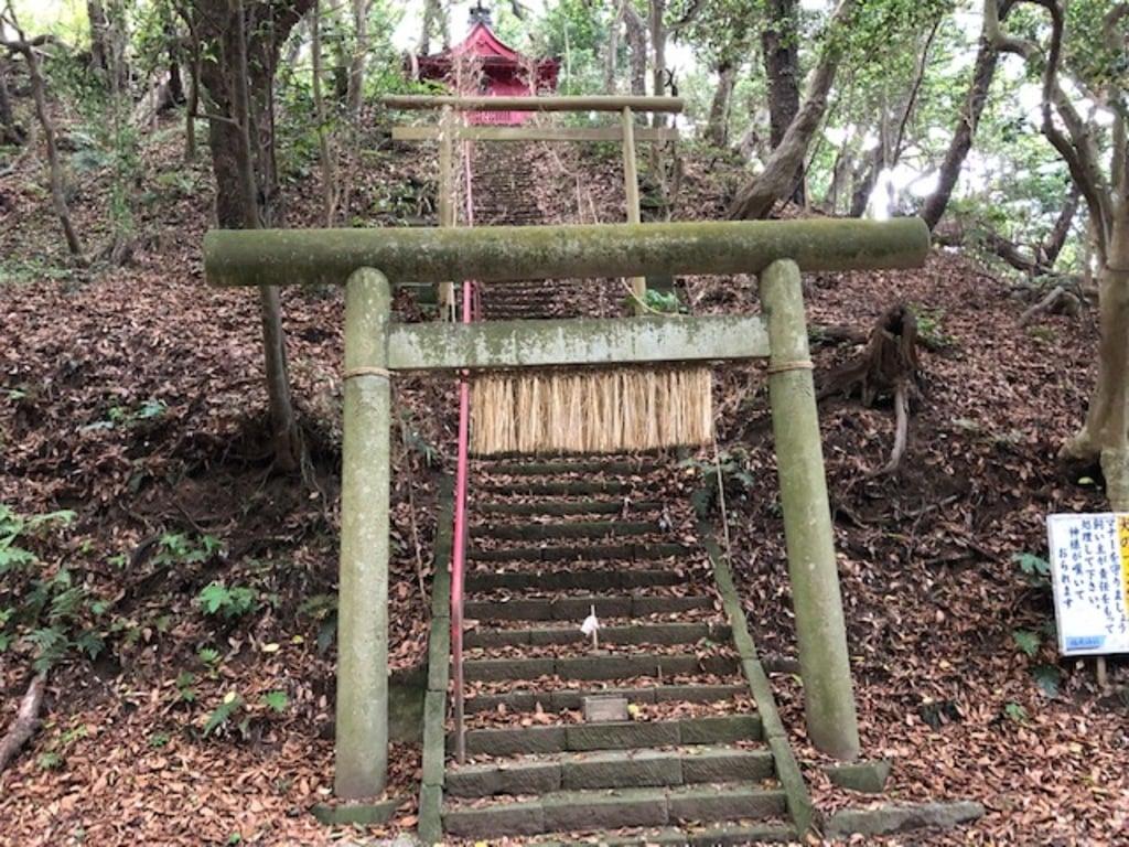小山稲荷神社の鳥居