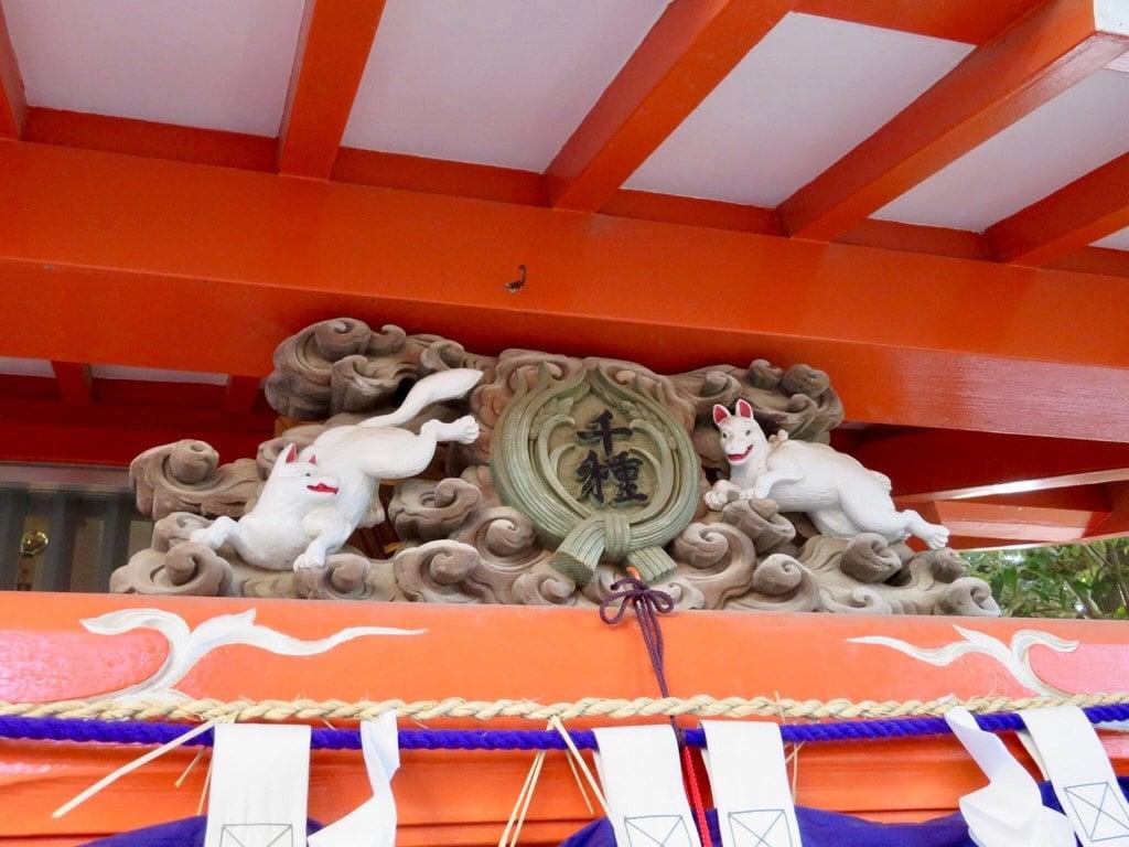 千種稲荷神社の本殿