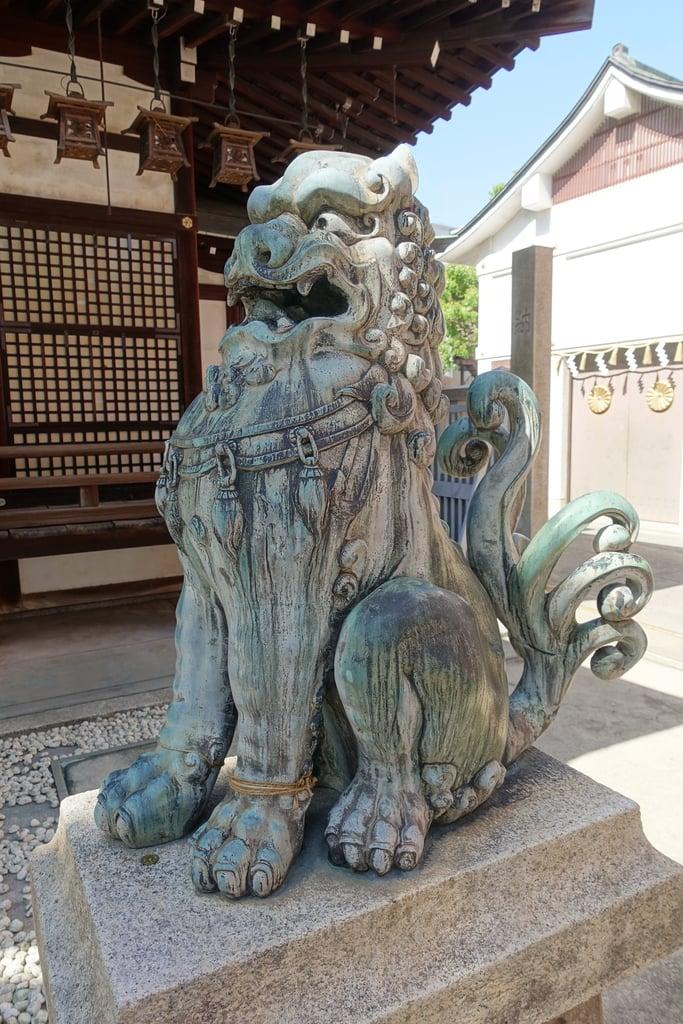 五條宮の狛犬