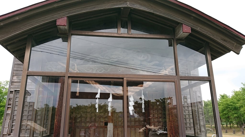 石狩弁天社の本殿