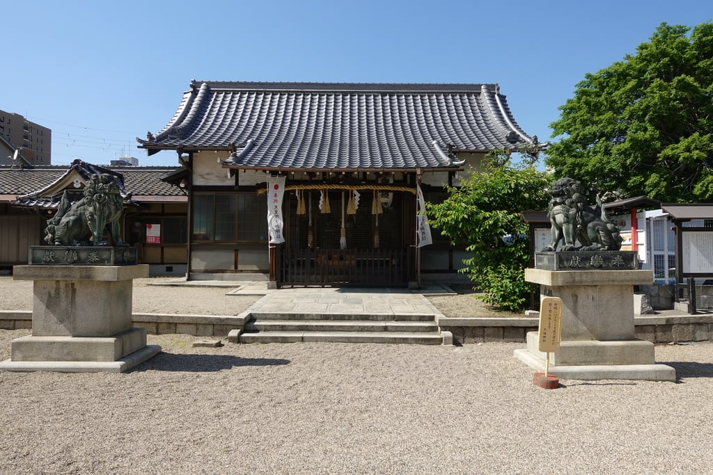 久保神社の本殿