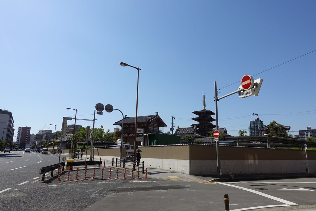 四天王寺の周辺