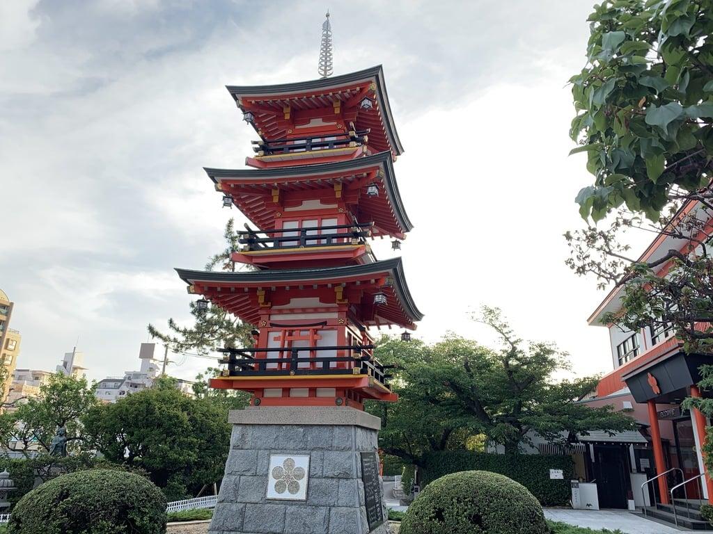 綱敷天満宮の塔