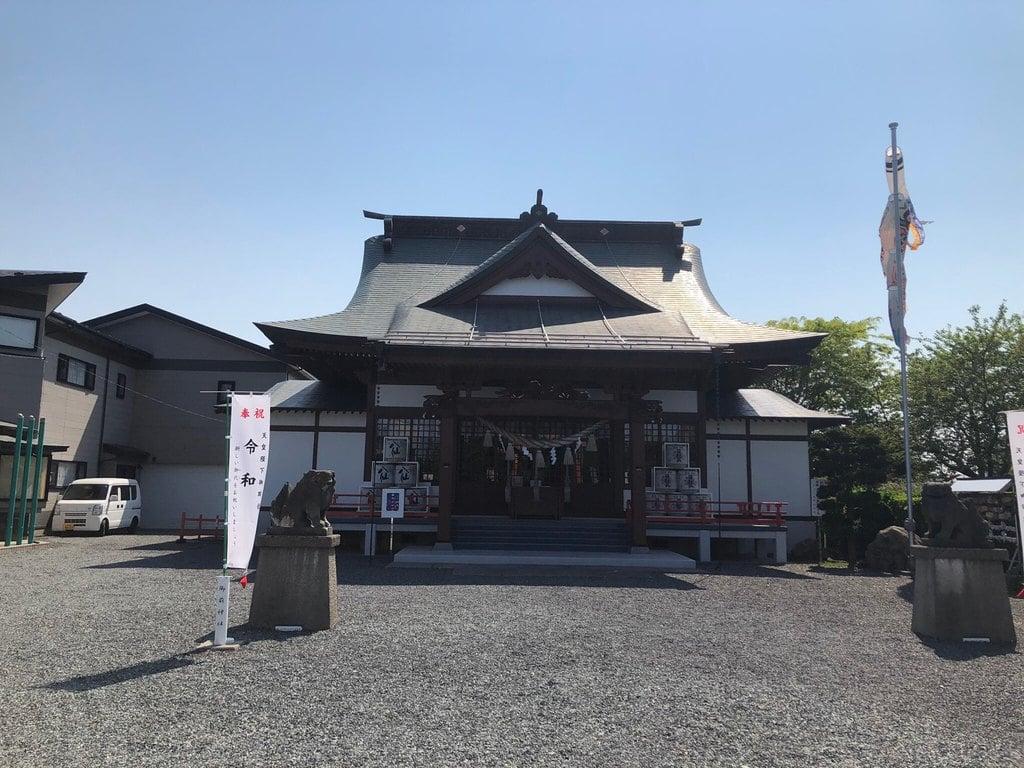 御前神社の本殿