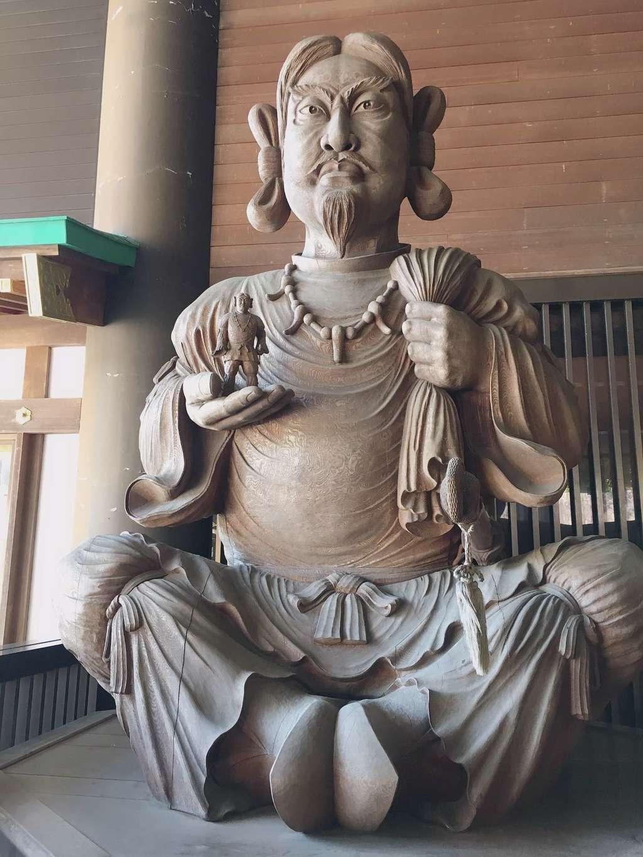 常陸国出雲大社の像