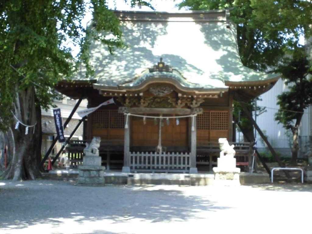 三島神社の境内・文化財