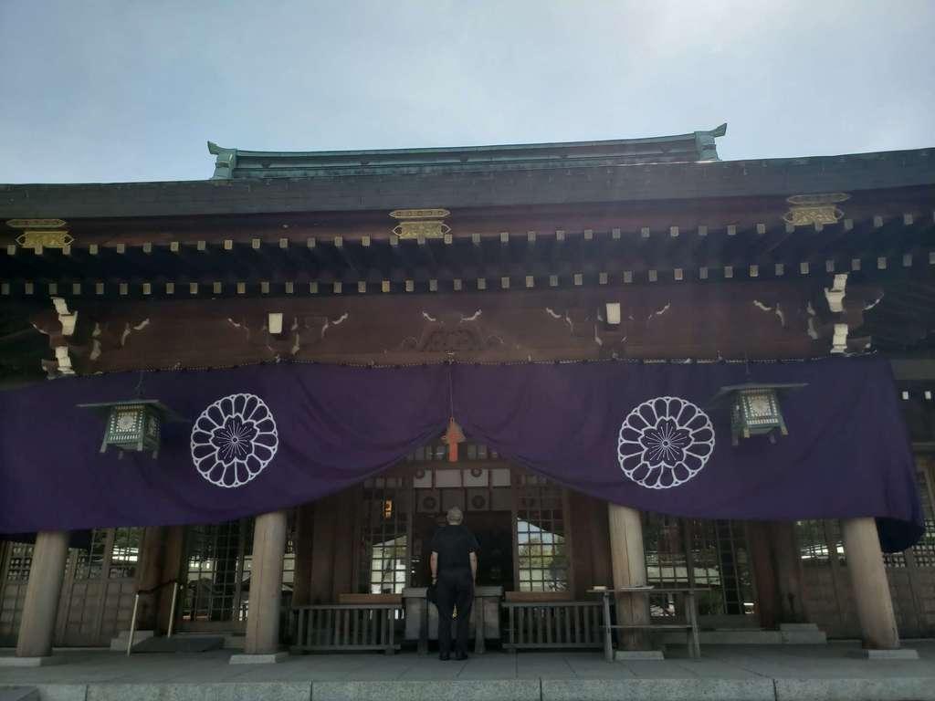 大分県護国神社の本殿