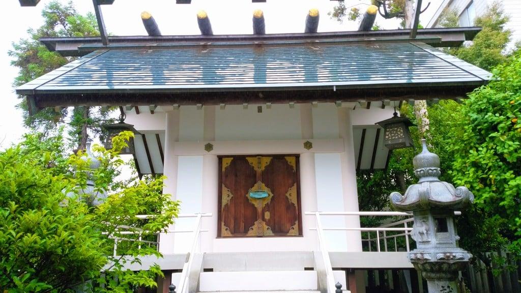 徳王稲荷社・金刀比羅社の本殿