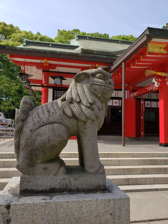 春日神社の狛犬