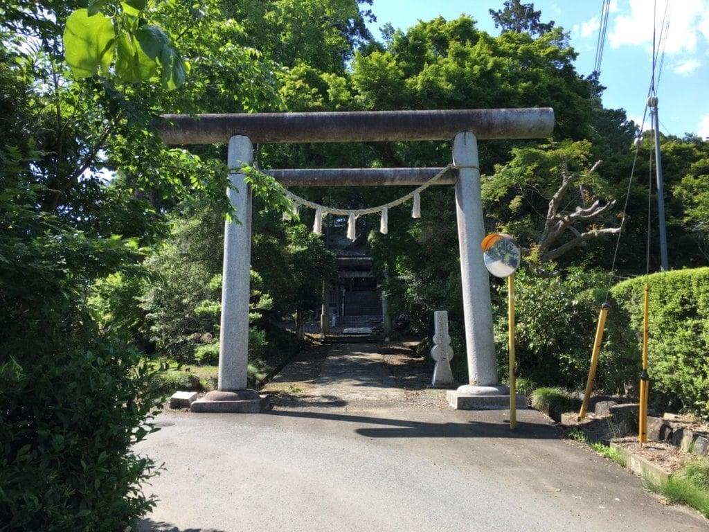 有賀神社の鳥居
