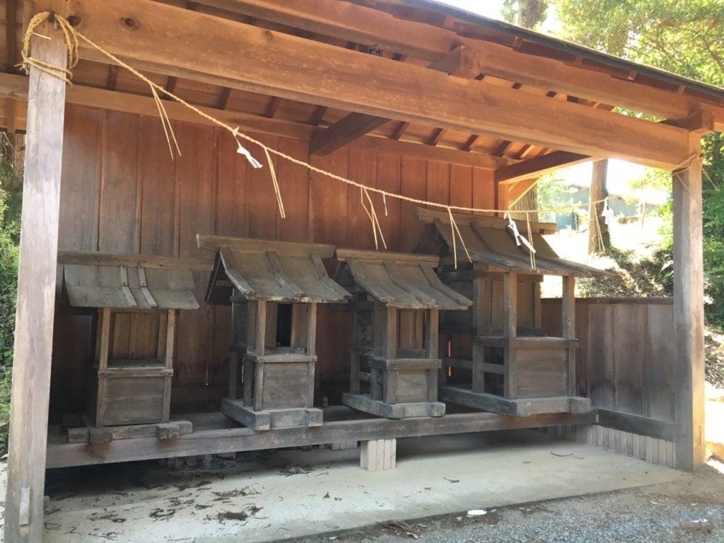 有賀神社の末社