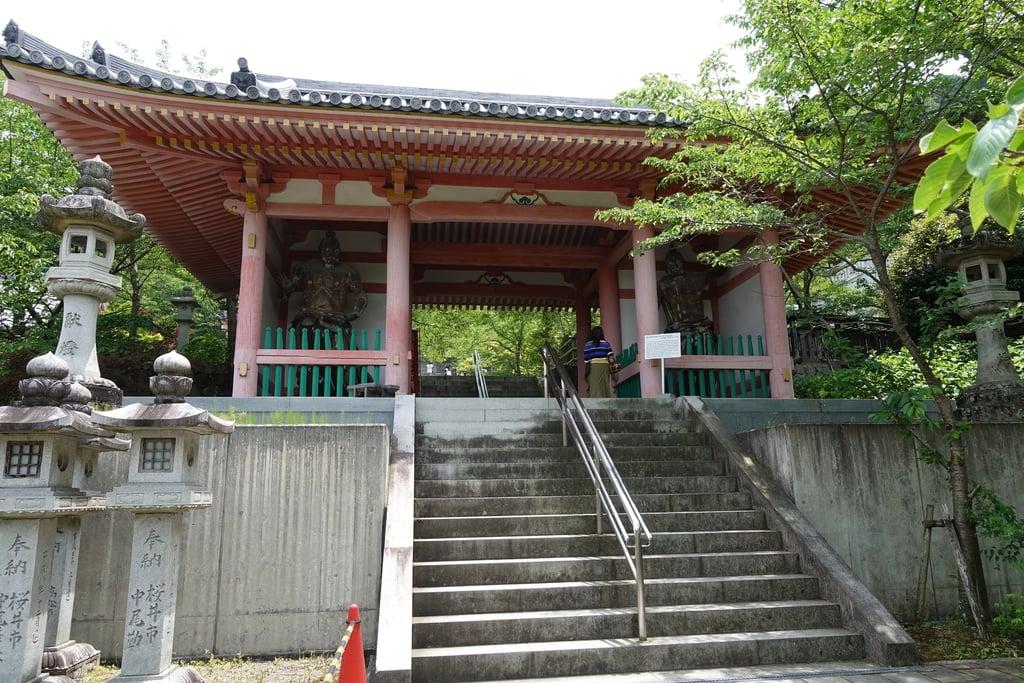 南法華寺(壷阪寺)の山門