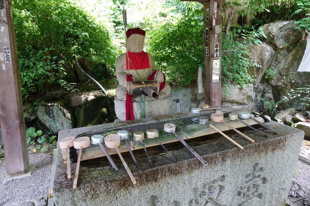 南法華寺(壷阪寺)の手水