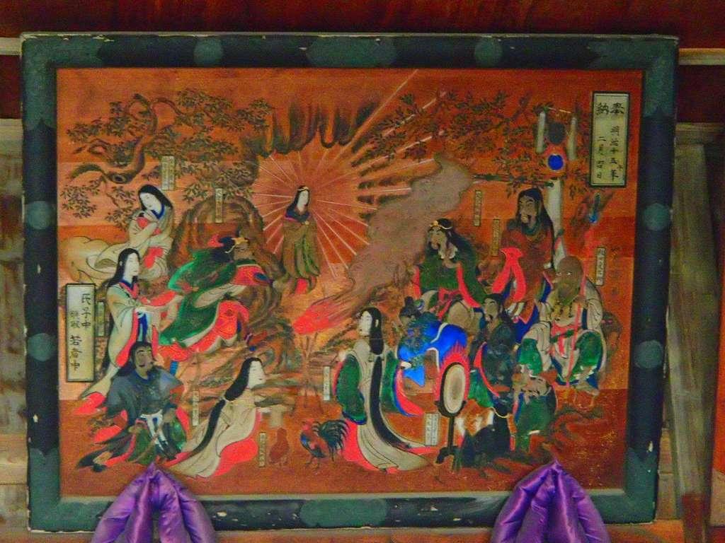 高富蕎高神社の芸術