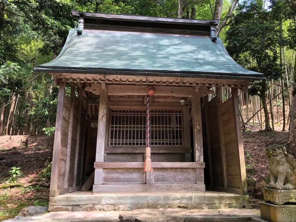 小浴神社の本殿