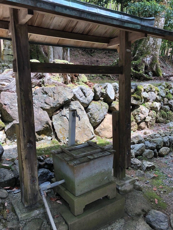 小浴神社の手水