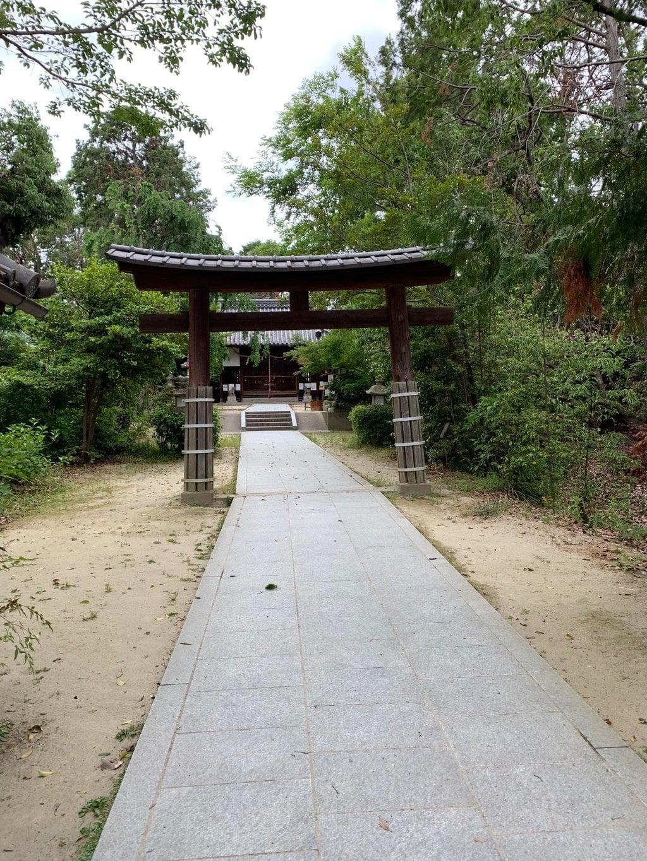 交野天神社の鳥居