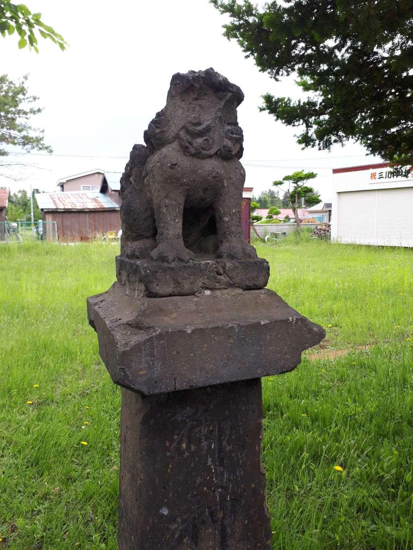 三川神社の境内・文化財