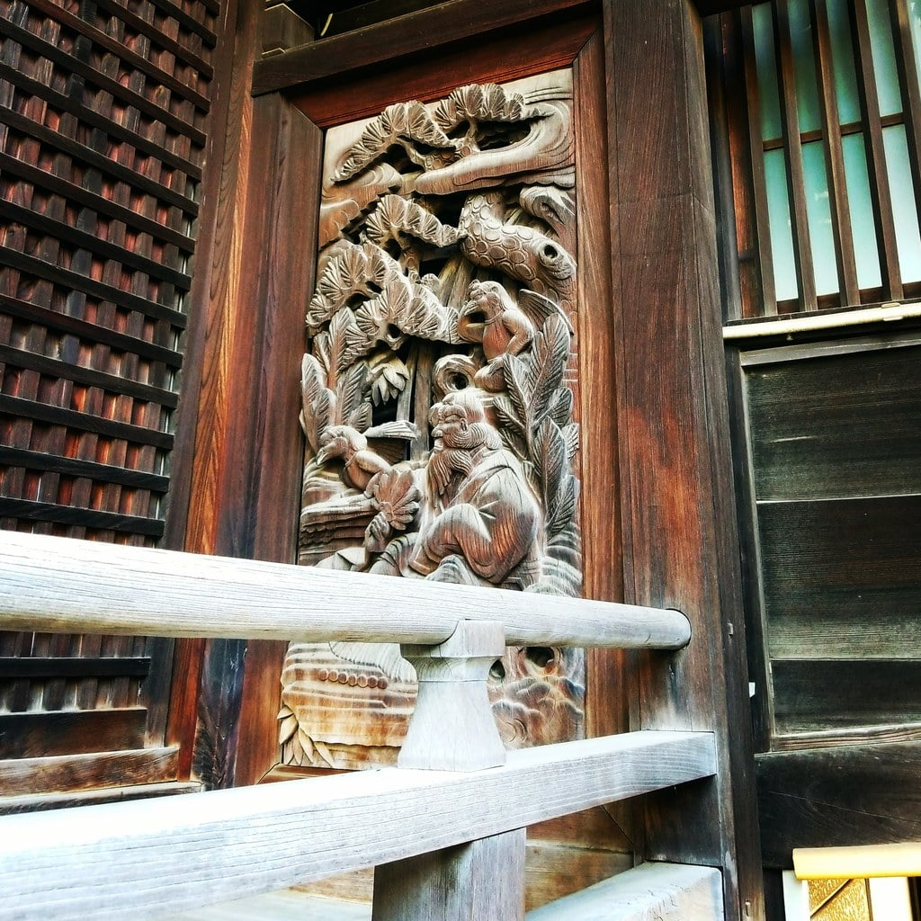 白山神社の芸術