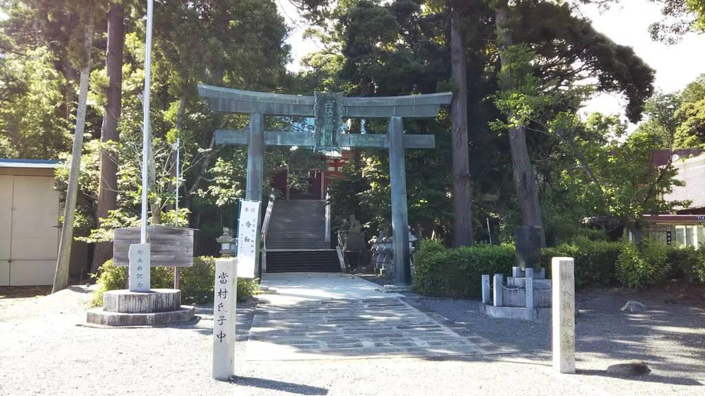 大頭龍神社の鳥居