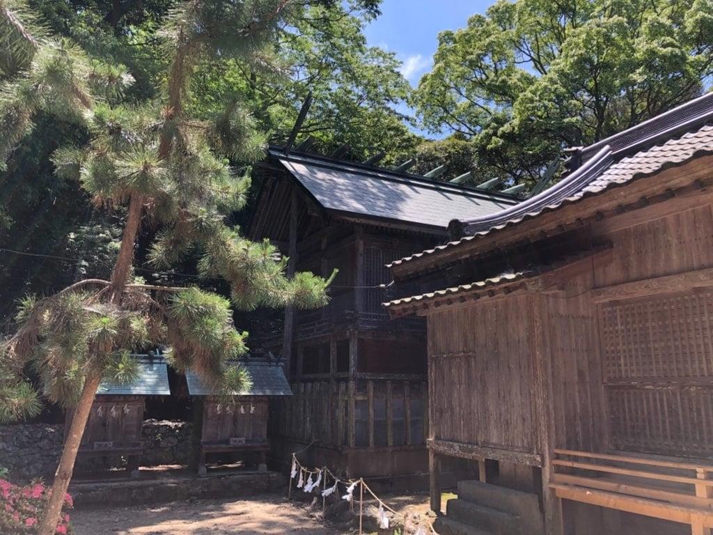 和多都美神社の本殿