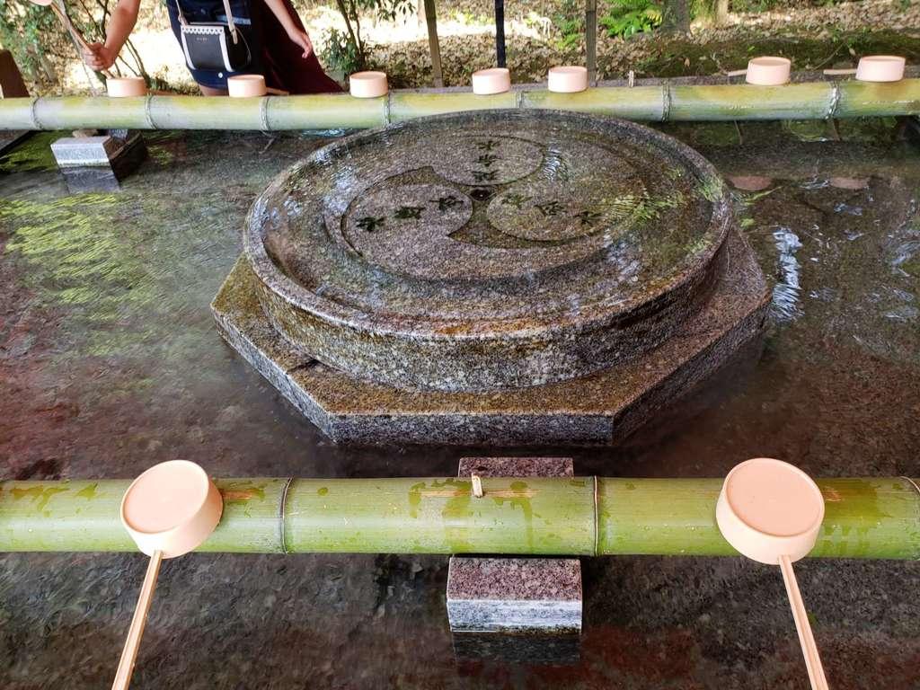宇佐神宮の手水
