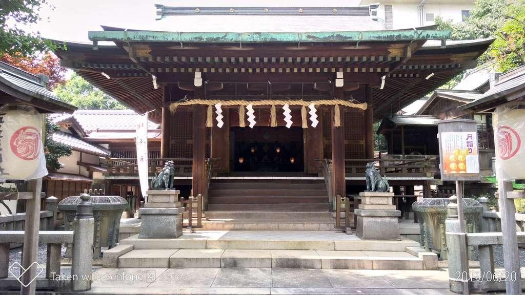 五條天神社の本殿