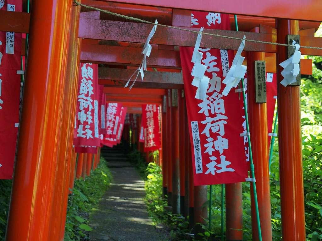 佐助稲荷神社の鳥居