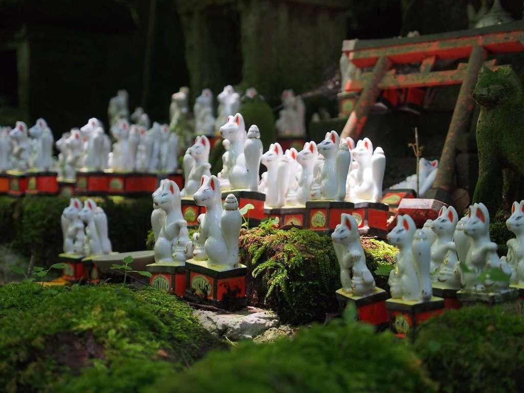 佐助稲荷神社の狛犬