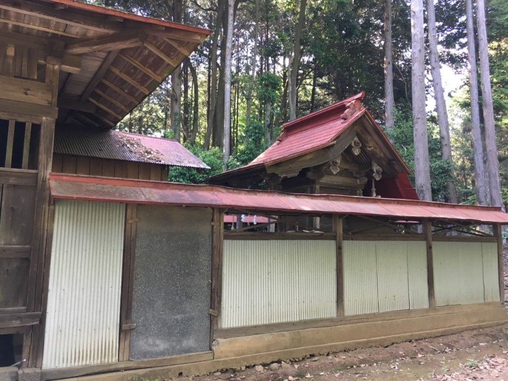 立野神社の境内・文化財