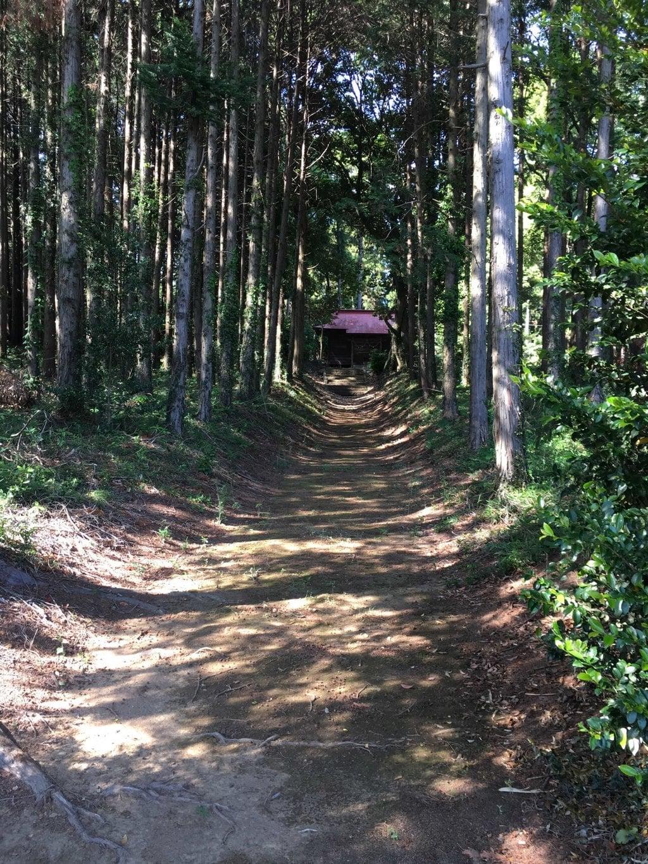 立野神社の景色