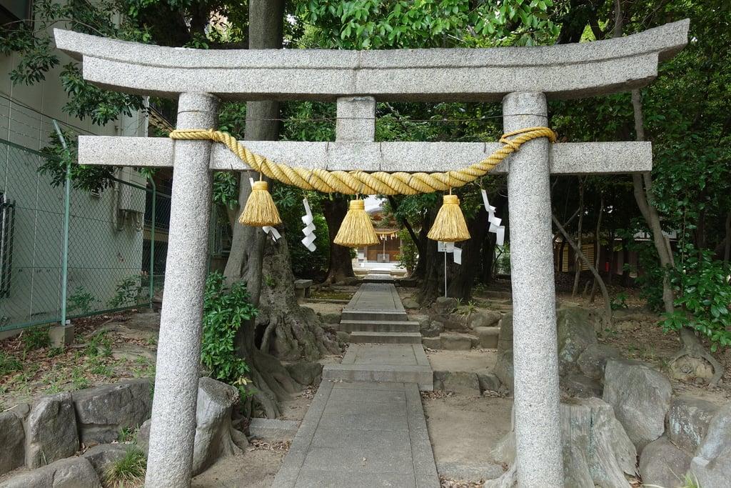新家春日神社の鳥居