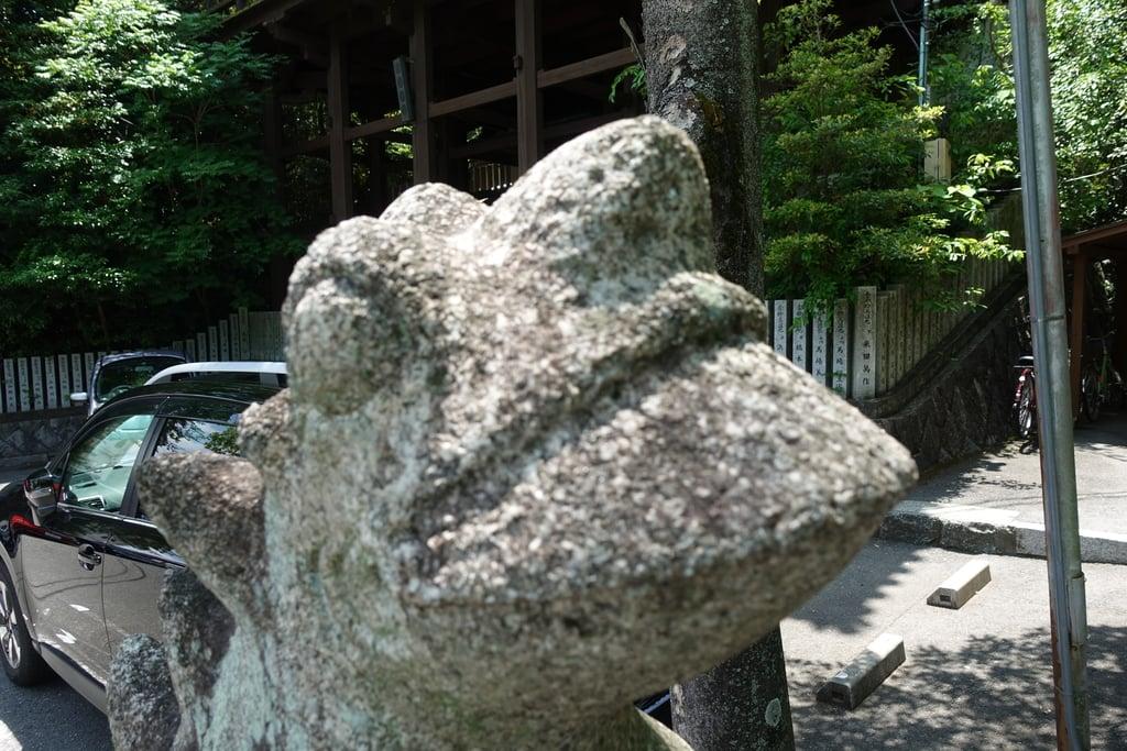 伊射奈岐神社の狛犬