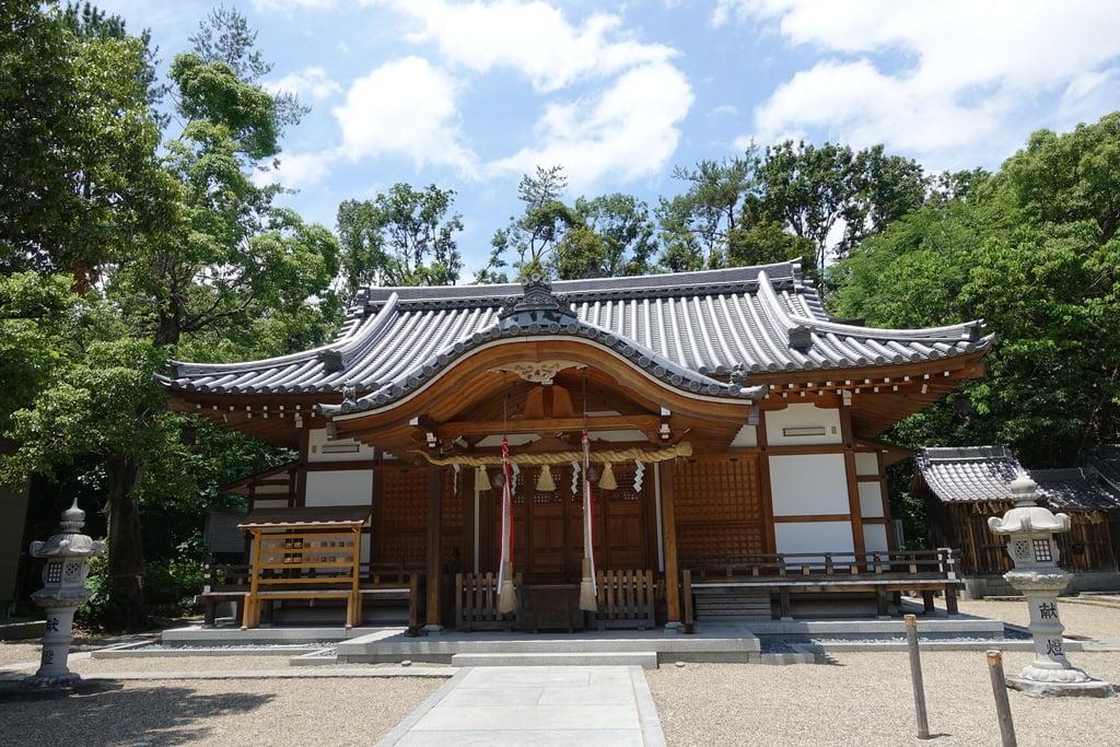 吉志部神社の本殿