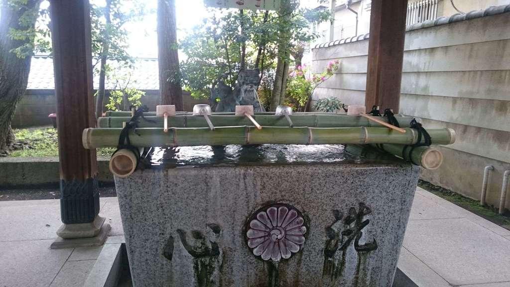 居木神社の手水
