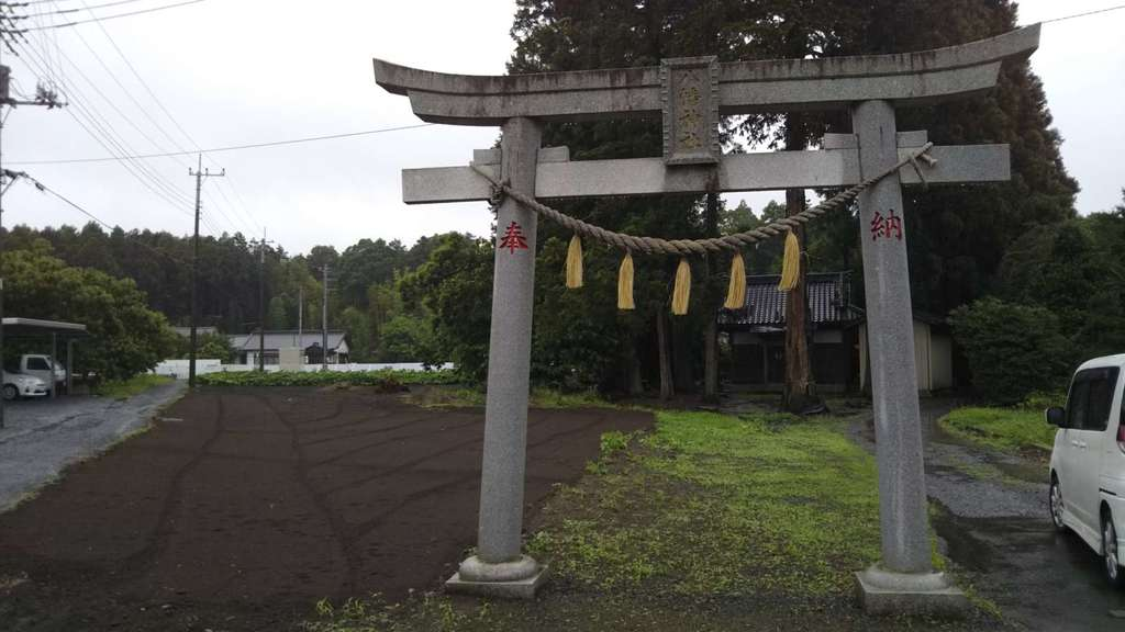 高田神社の鳥居