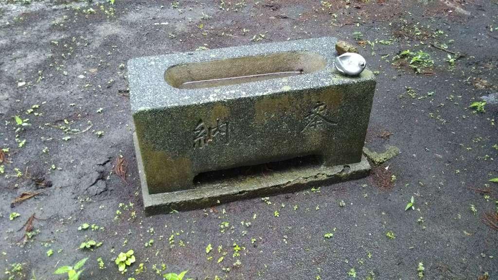高田神社の手水