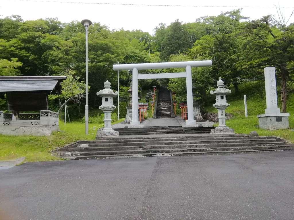 夕張神社の鳥居