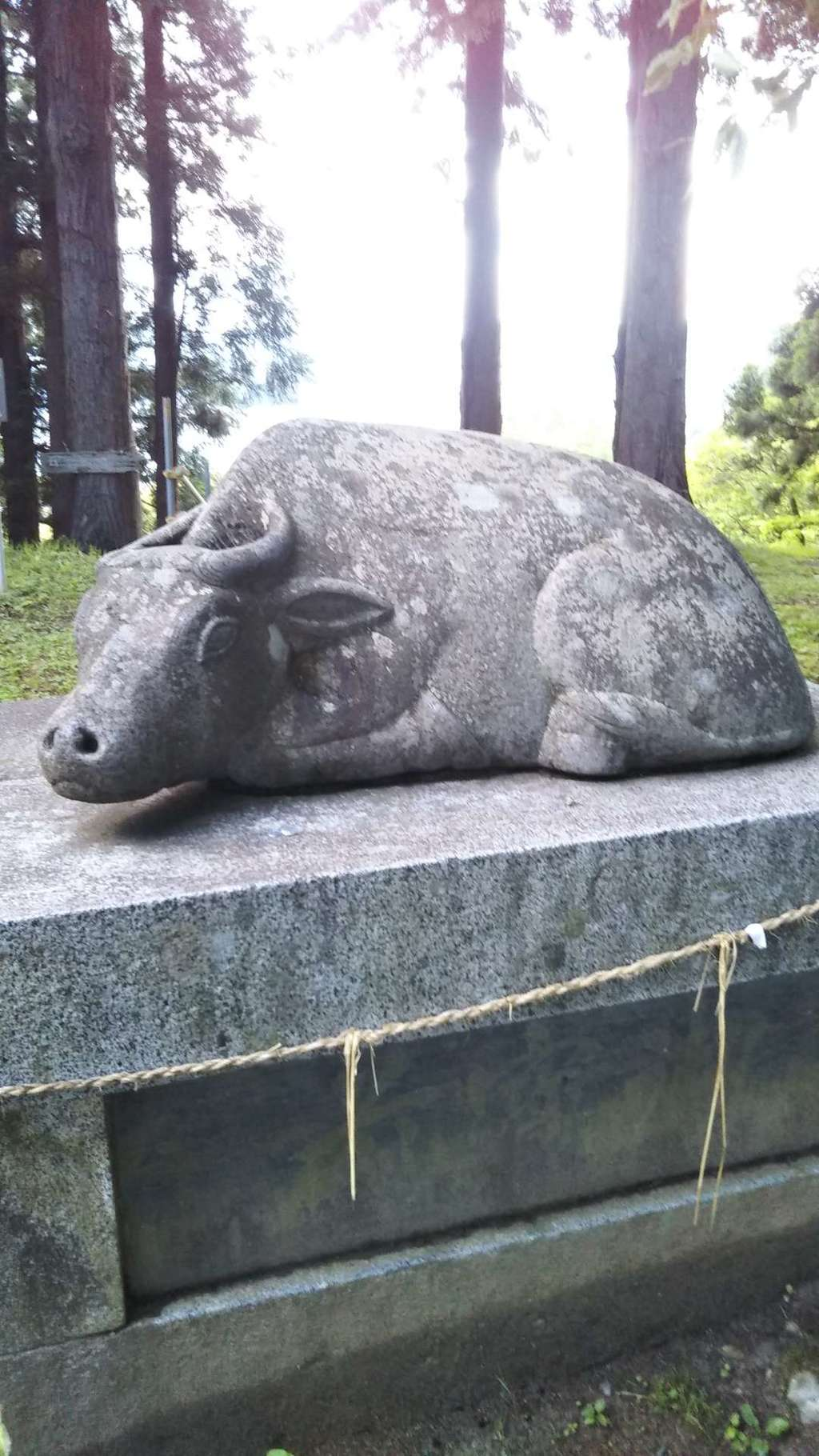 盛岡天満宮の狛犬