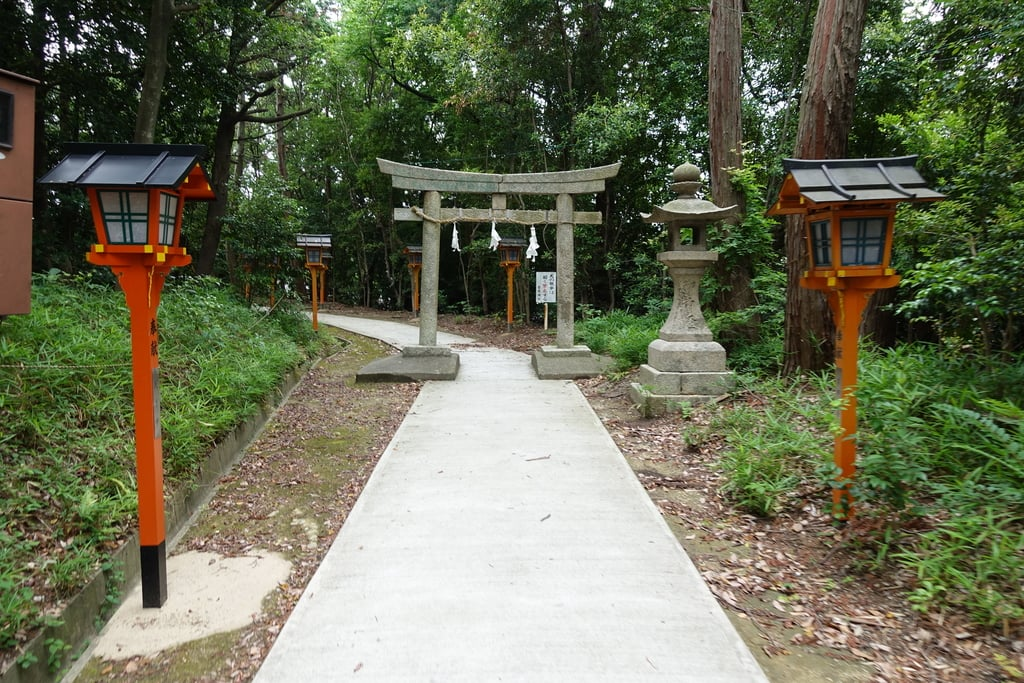 菅原神社の鳥居