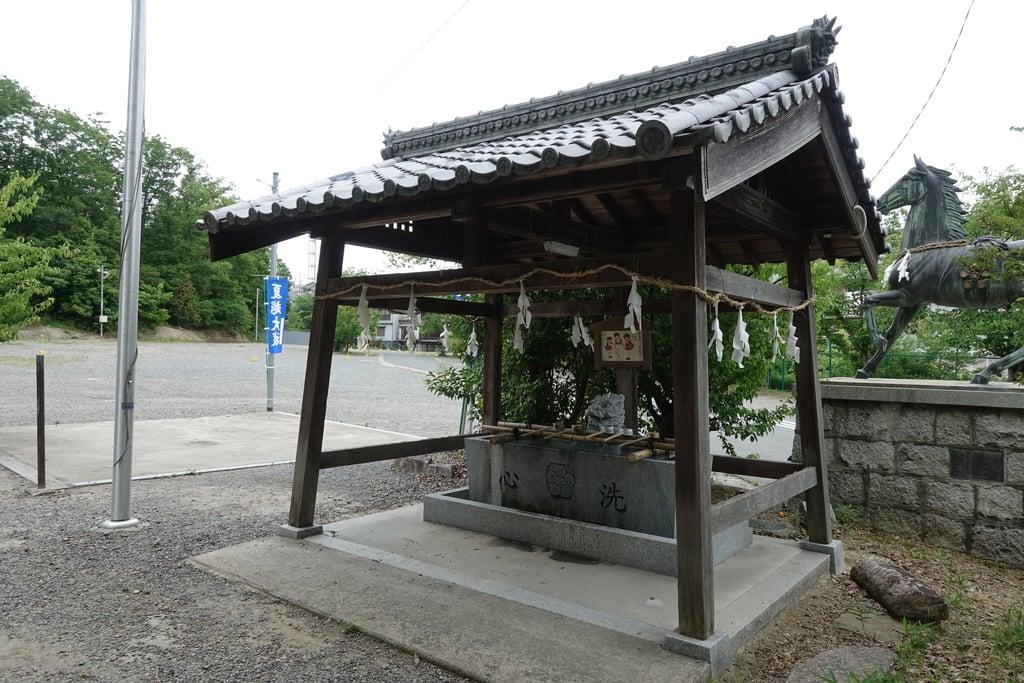 菅原神社の手水
